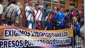 Solidaridad con el plantón de las comunidades del Catatumbo en la Defensoría del Pueblo