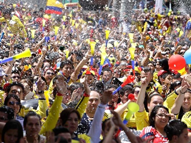 El me importa un culismo nacional - celebracion_hinchas_de_colombia