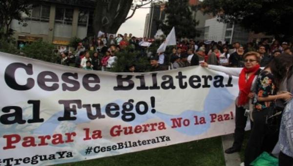 Urge un cese bilateral al fuego en Colombia