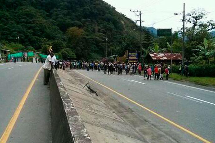 DENUNCIA PÚBLICA, Represión Estatal en el Valle del Cauca