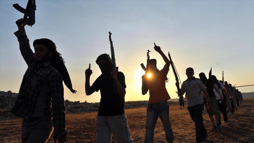 Elementos del grupo terrorista EIIL