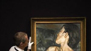 A subasta un retrato de la amante de Lucian Freud valorado en 13 millones