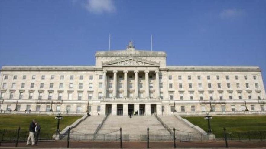 El Parlamento irlandés.