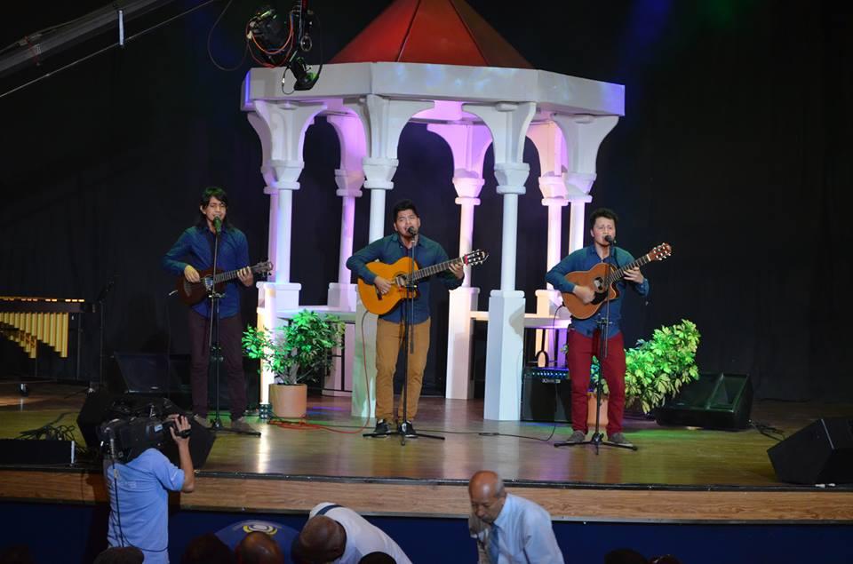 Opio trío de Bogotá, ganadores del III Concurso Juvenil Trío Novel