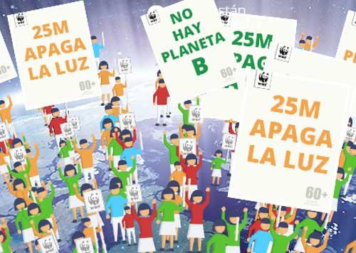 La Hora del Planeta cumple 10 años como la mayor iniciativa ambiental mundial - Hora-del-Planeta-marcha-cartel