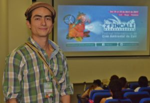 Así vivió Cali el 2do Festival Internacional de Cine Ambiental - Ariel-Arango-director-de-Sangre-y-Tierra-300x207