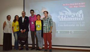 Así vivió Cali el 2do Festival Internacional de Cine Ambiental - Conversatorio-Gonzalo-Guillén-y-Jorge-Rojas.-Univalle-300x173