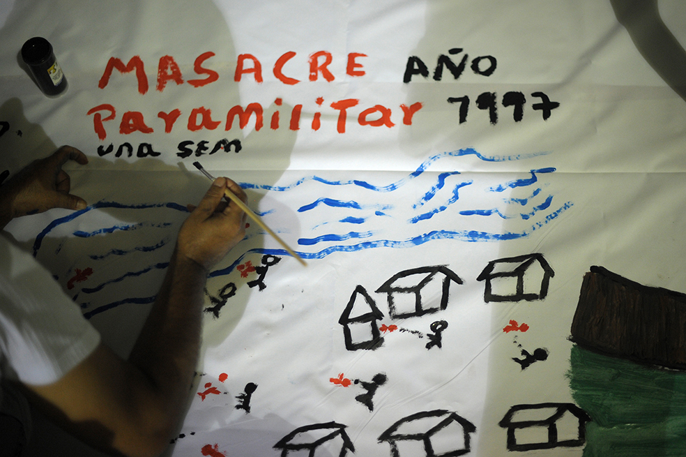 MAPIRIPÁN, META: Víctimas de Mapiripán son hostigadas en actos de memoria - para