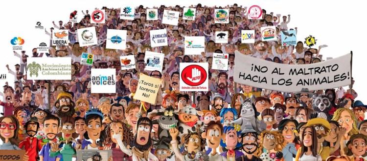 Marcha mundial por los derechos de los animales - marcha-animalista