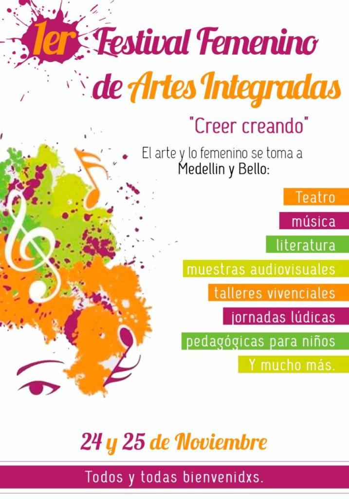 Informe sobre el Primer encuentro femenino de arte en Medellín y Bello - 23004856_884725365026645_8170688387702357517_o-717x1024